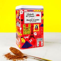Boîte de cacao en poudre
