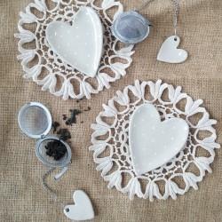 Coeur à coeur | Boule à thé...